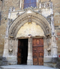 Eglise Saint-Theudère - Français:   Saint-Chef - Église Saint-Theudère - Portail