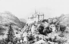 Château d'Uriage - French painter, illustrator, photographer and lithographer