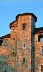 Château de Montagnieu - Français:   Maison Forte de Montagnieu à Soleymieu (38)  Communauté du Chemin Neuf