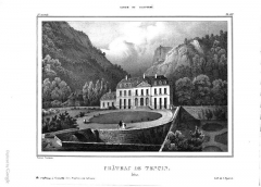 Château et son parc - French painter, illustrator, photographer and lithographer