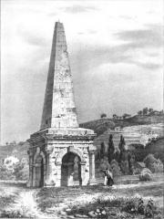 Aiguille (pyramide de la Spina du cirque) - French artist