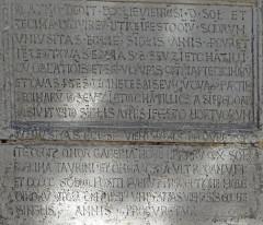 Chapelle Saint-Théodore - Français:   Vienne - Chapelle Saint-Théodore - Inscription