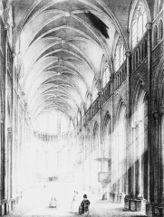 Eglise Saint-Maurice, anciennement cathédrale - French painter, illustrator, photographer and lithographer