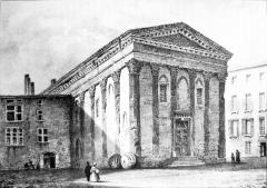 Temple d'Auguste et de Livie - French artist