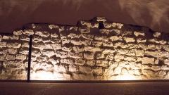 Ancien évêché - English: The Vestiges of the Gallo-Roman Walls (Grenoble). The exhibit can de found at the Musée de l'Ancien Evêché in Grenoble, France.