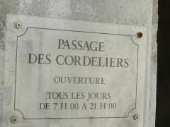 Couvent des Cordeliers (vestiges de l'ancien) - Français:   Couvent des Cordeliers de Moirans