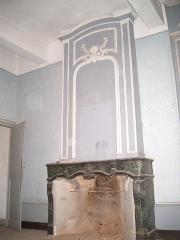 Château de l'Arthaudière -  Château de l'Arthaudière à St Bonnet de Chavagne (Isère) Cheminée de l'antichambre du premier étage  Photo prise par Daniel Etienne