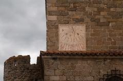 Prieuré - English:  Sundial