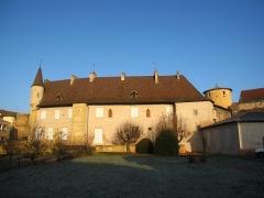 Abbaye de Charlieu - Logis du prieur, côté sud.