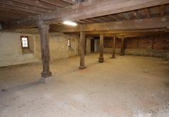 Abbaye de Charlieu - Le dortoir des moines.