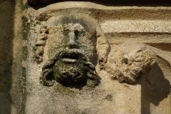 Eglise Saint-Philibert - Deutsch: Detail des Portals der Kirche Saint-Philibert in Charlieu