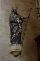 Eglise Saint-Philibert -  Statue des heiligen de:Eligius in der Kirche Saint-Philibert in Charlieu
