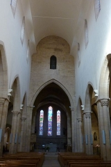 Eglise Saint-Philibert -  Innenraum der Kirche Saint-Philibert in Charlieu