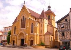 Eglise Saint-Philibert - Polski: Kościół pod wezwaniem św. Philiberta w Charlieu