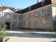 Château de Goutelas -  Goutelas' Castle main courtyard