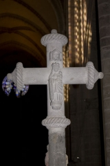 Croix -   Our Lady, on the reverse of the crosspiece from the Cross of Estalliet.