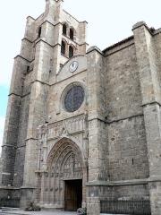 Eglise Notre-Dame -  Montbrison - Collégiale Notre-Dame de l'Espérance - Façade