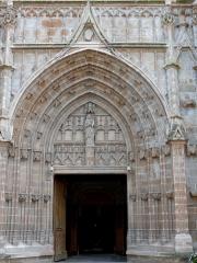 Eglise Notre-Dame - Français:   Montbrison - Collégiale Notre-Dame d\'Espérance - Portail