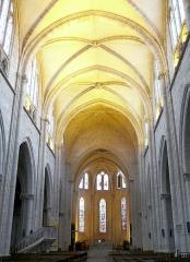 Eglise Notre-Dame - Français:   Montbrison - Collégiale Notre-Dame d\'Espérance - Nef