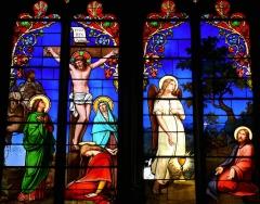 Eglise Notre-Dame - Français:   Montbrison - Collégiale Notre-Dame d\'Espérance - Vitrail