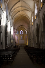 Eglise Notre-Dame - English:  Vessel of the nave.