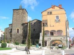 Château -  Le Donjon du Chateau de Roanne