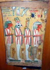 Musée Joseph Dechelette -  fragment de sarcophage