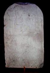 Musée Joseph Dechelette -  stèle de Reya