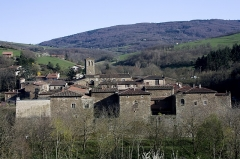 Ancienne chartreuse - English:  General view of the Carthusian monastery.