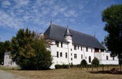 Château de la Bastie-d'Urfé - Français:   Vue arrière du château de la Bastie d\'Urfé à Saint-Etienne-le-Molard (Loire).