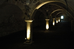 Château de la Bastie-d'Urfé - Français:   La galerie aux douze colonnes, Bastie d\'Urfé (loire)