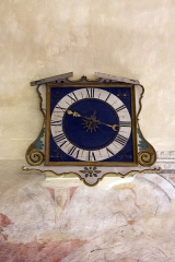 Eglise - English:  Weights clock of 15 century.