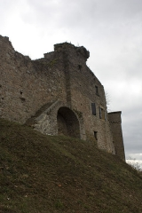 Eglise - English:  Remains of the north gate of the enclosure of the 15th century.