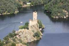 Château de Grangent (restes) -  Château de Grangent