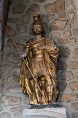 Eglise -  Saint Victor, a Roman soldier, martyr, died 21 July 3032 in Marseille.