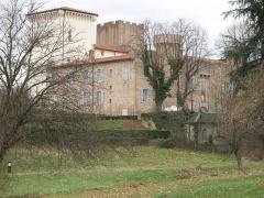 Château -  Château de Charly à Charly dans le Rhône.