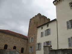 Château - Français:   Château de Charly à Charly dans le Rhône.