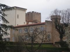 Château - Français:   Charly (69): Le château, vue générale
