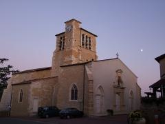 Eglise paroissiale Notre-Dame-de-l'Assomption -  Liergues - kościół XIw. / Liergues L'Eglise - church XI c