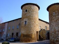 Ancien château des Comtes de Lissieu -  château des comtes de Lissieu