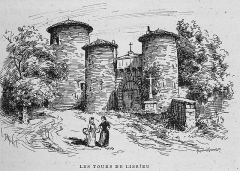 Ancien château des Comtes de Lissieu - French engraver and painter