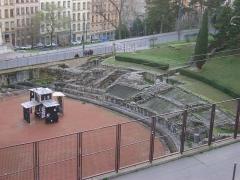 Amphithéâtre fédéral romain des Trois Gaules - Amphithéâtre des Trois Gaules à Lyon, Rhône.
