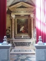Ancien Collège de la Trinité, actuellement lycée Ampère - Français:   Chapelle avec tableau.