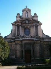 Eglise Saint-Bruno-les-Chartreux -  Façade de l'Eglise Saint-Bruno des Chartreux, Lyon, France