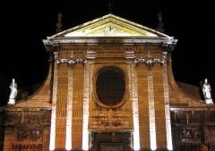 Eglise Saint-Just -  L'église Saint-Just à Lyon (France), la nuit.