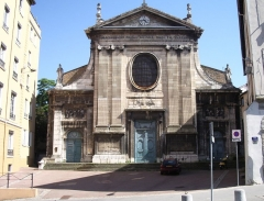 Eglise Saint-Just - English: View of the Church Saint-Just of Lyon (France)