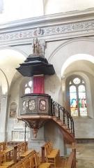 Eglise Saint-Just - Français:   Chaire.