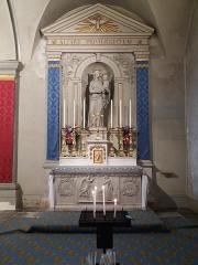 Eglise Saint-Just - Français:   Chapelle de la Vierge.
