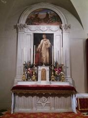 Eglise Saint-Just - Français:   Chapelle de Saint Just.