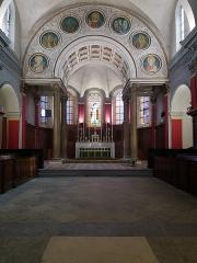 Eglise Saint-Just - Français:   Chœur de face.